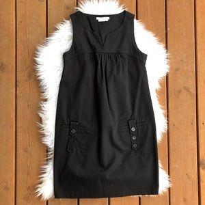 [Max Mara] Black Sleeveless Jumper Dress - Small